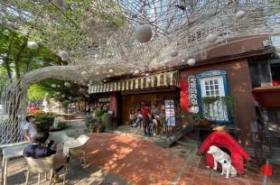 台中北屯區旅遊/紙箱王創意園區八大必逛!蘑菇屋、比薩斜塔、空中景觀步道 還有全台唯一紙箱火車、紙火鍋