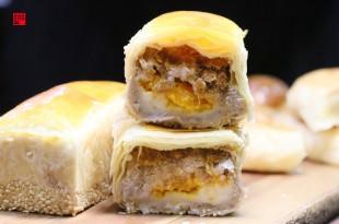雲林虎尾美食/70年老店福榮喜餅推超狂長方體「芋見mochi」 顛覆你對傳統大餅的想像!